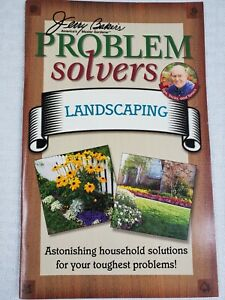 Jerry Bakers Problem Solvers LANDSCAPING Paperback Booklet- Gardening- Free Ship