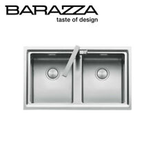 NEW Barazza EASY2 Easy Double Bowl Kitchen Sink