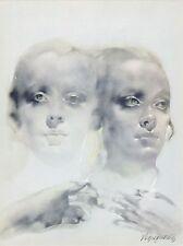 "litografia Renzo Vespignani ""Gemelli"" / ""Gemini"" - Firmato/Signed"