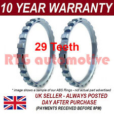 2X FOR VAUXHALL OPEL CORSA B C MK1 MK2 29 TOOTH 60.9MM ABS RELUCTOR RING AR5001