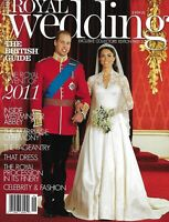 Royal Wedding Magazine Kate Middleton Prince William Queen Elizabeth Special