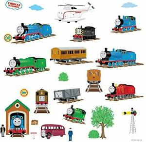 Thomas and Friends Peel And Stick Reusable Wall Decals Stickers 12.7x2.2x27 cm