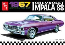 AMT 981 1967 Chevrolet impala SS 1:25 Scale Plastic Model Kit - Requires Assembl