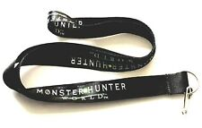 1 New Monster Hunter World Lanyard Black J Hook Limited Edition PAX South 2018