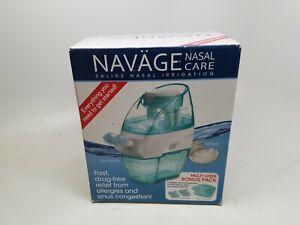 NAVAGE Nasal Care Saline Nasal Irrigation Powered Suction MULTI USER BONUS PACK