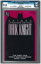 BATMAN: LEGENDS OF THE DARK KNIGHT SET #1-#4 CGC 9.8 (11/89) DC white pages