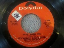GENYA RAVAN and TEN WHEEL DRIVE  Morning Much Better / Stay With Me  promo 45
