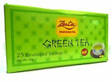 GREEN TEA Original Ceylon Tea Pack By Zesta Tea Anti oxidant 25 Tea Bags Free