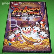 PATO AVENTURAS EL TESORO DE LA LAMPARA PERDIDA DISNEY DVD NUEVO Y PRECINTADO