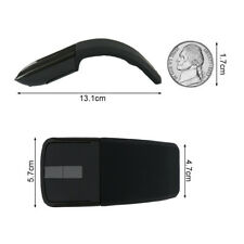 Wireless Foldable Mouse For Microsoft-Surface Arc Touch 3D Laptop Mouse 2.4Ghz