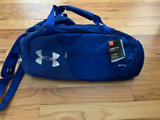 Under Armour Undeniable Duffle 4.0 Medium Sized Gym Bag Royal Blue NWT