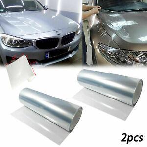 Clear Car Headlight Bumper Hood Paint Anti-Scratch Protection Vinyl Film Sheet