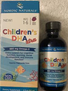 Nordic Naturals Children's DHA Liquid Omega3 DHA Fish Oil 1-6yrs*Missing Syringe