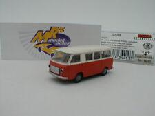 Brekina 34411 - Fiat 238 Bus Baujahr 1966 in weiß orange 1:87 Neuheit !!