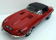 Polistil 1:16 Jaguar E - Type (XKE) 4,2 Ltr., rot 1961