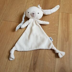 Mamas And Papas Bunny Rabbit Comforter Blankie Soother Soft Toy Plush IMPERFECT