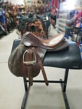 "16.5"" USED HUBERTUS ENGLISH SADDLE 3-1400-4"
