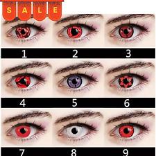 Anime Eyes Cosplay Colored Contact Eyewear Beautiful Insert Makeup Party 2pcs