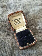 Ring  Box Antique 1950s  Jewel Box  Leicester (1943J)