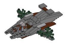 Lego CLUB Star Wars Speeder Parts & Instructions