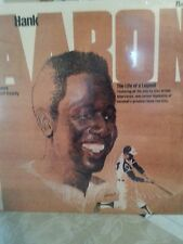 Hank Aaron The Life Of A Legend SEALED LP Narrated by Curt Gowdy