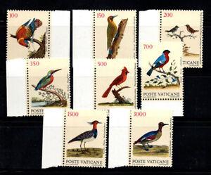 Vatican 1989 Sass. 856-863 MNH 100% Birds, Ecology