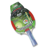 Superspin Table Tennis Ping Pong Bat ITTF Aproved Best in Spin and Speed 6 star