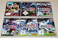 6 giochi ps3 raccolta PRO EVOLUTION SOCCER PES 2008 2009 2010 2011 2012 2013