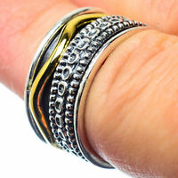 Meditation Spinner 925 Sterling Silver Ring Size 6 Ana Co Jewelry R26143F