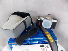Nikon N65 Camera With Manuals Nikon Case Strap and Original Boxes New Batteries