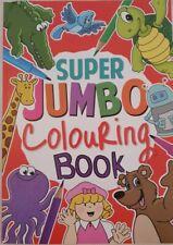 A4 Super Jumbo Kids Colouring Book Travel Fun Animal Art Craft Creative Hobby