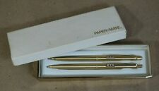 Papermate Profile Gold Ballpoint  Pen & 0.9mm Pencil Set New In Box Usa