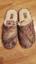 NWT Mossy Oak CAMO CAMOUFLAGE Scuff Slipper House Shoe Mens size Small 7-8