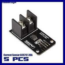 5 PCS AC/DC 5A Range Current Sensor ACS712 Module FREE SHIPPING