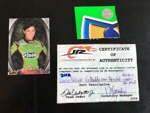 Danica Patrick Car Piece from ACTUAL  NASCAR RACE Gift Collectible Memorabilia