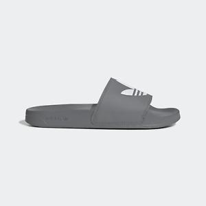 Adidas Adilette Lite Slides Sandals Slipper Gray FU7592