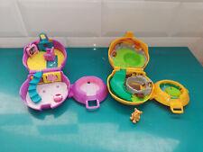 Lot 2 Polly pocket Le roi lion et 101 Dalmatiens Mattel Disney