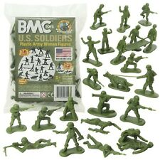 1 32 US Soliders Army Women Figures Plastic Toy BMC 67013