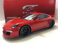 """GT SPIRIT 1/18 Porsche 911 """"991"""" Carrera S Aerokit 2012 Red Art. GT022A"""
