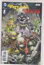 Batman Teenage Mutant Ninja Turtles TMNT Issue 1 & 3 1st Print  DC/IDW