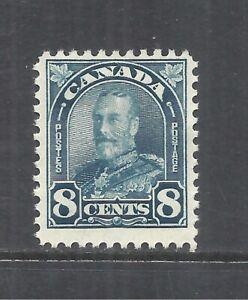 CANADA SCOTT 171 MH FINE - 1930 8c DARK BLUE  KING GEORGE V ISSUE   CV $27.50