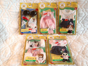 BUILD-A-BEAR WORKSHOP HASBRO LOT OF 5 NEW ACCESSORIES OUTFITS CLOTHES STICKERS