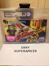 BOMBERMAN B-DAMAN W/  FIGURE SUPER FAMICOM JAPAN VGA 90 ARCHIVAL CASE