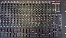 """Roland m-16 E rackmixer 16 Canaux Table de mixage 6 HE 19"""" NP: 1700,- € TOP P. images!"""