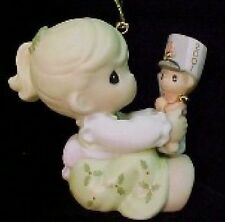 Precious Moments May Your Christmas Begin With A Bang 2001 Dated Ornament 877441