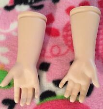 """Doll Art Works Porcelain Mandy Arms for 24"""" doll Bisque Ready to Paint"""