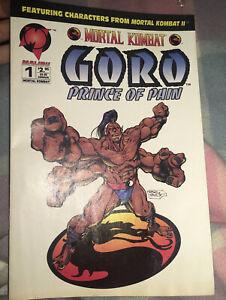 Malibu Comic Mortal Kombat Goro Prince Of Pain Book