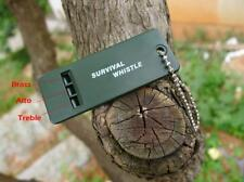 2 New Emergency Survival Whistle Rescue Tool Signal Sound Outdoor Camping Hiking