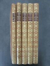 Pierre Loti,  5 volumes doubles et illustrés, éditions Pierre Lafitte 1923