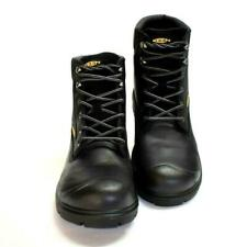 """New KEEN UTILITY Mens 8.5 D BALTIMORE 6"""" WP ST Black Leather Work Boots 1018662"""